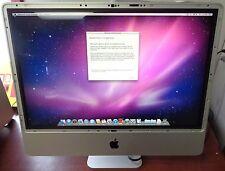 "Apple iMac 20"" Core 2 Duo 2.4GHz 4GB 320GB HD BC6A1115 / 579C-A1115 See Descript"