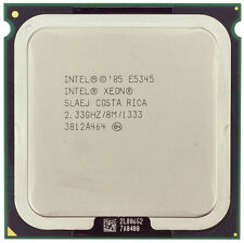 INTEL XEON QUAD CORE E5345 CPU PROCESSOR 2.33Ghz 8M 1333MHz SLAEJ