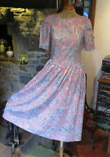 VINTAGE LAURA ASHLEY TEA DRESS. VERY PRETTY AND IN EXCELLENT CONDITION. SIZE 12.