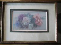 Lena Liu Floral Bouquet Limited Edition 1166/2500 Framed Lithograph Print Signed