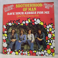 "33 tours BROTHERHOOD OF MAN Disque Vinyle LP 12"" SAVE YOUR KISS FOR ME - RECORDS"