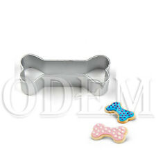Dog'S Favorite Bone Shape Cookie Cake Decorating Alloy Cutter Tin Baking Mould