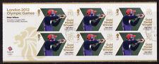 Gran Bretaña Londres 2012 Peter Wilson, disparando Miniatura Hoja f.used Olimpiadas