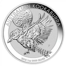 2018 Australia Kookaburra 1 Dollar 1oz Silver Bullion Coin Lot G
