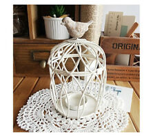 Vintage Bird Cage Candleholder Tea Light Candle Holder Candlestick Wedding Gift