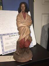 Tom Clark Gnome SACAJAWEA #5161 Collectible Native American Indian Figurine COA