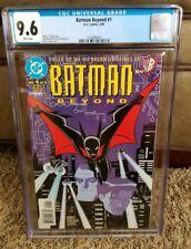 Batman Beyond #1 CGC 9.6