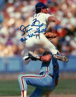 Steve Sax Autographed Signed 8x10 Photo ( Dodgers ) REPRINT