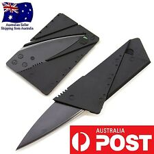 1 x Pocket Knife Steel Credit Card Knife Portable Utility Wallet Knife Brand New