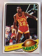 1979-80 Topps John Drew Atlanta Hawks #118 Basketball Card mint