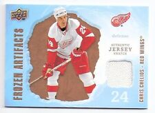 Chris Chelios Red Wings 2008-09 Artifacts Frozen Artifacts Jersey Card #FA-CH