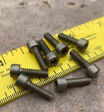 """10-24 x 1/2"""" Hex Socket Cap Screws, Grade 5 Titanium (pack of 10)"""