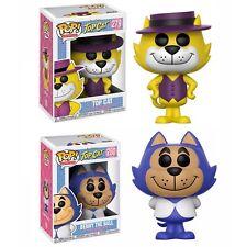 TOP CAT & BENNY THE BALL Funko Pop Animation Top Cat #279 & 280 Vinyl Figures