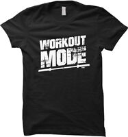 Workout Mode - Gym Weightlifting Exercise Jogging Womens T-shirt