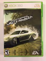 Need for Speed Most Wanted - Xbox 360 - Replacement Case - No Game