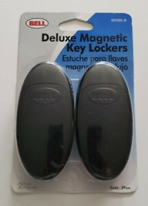 BELL 2 Pack Deluxe Magnetic Key Lockers 05905-8 New