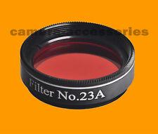 "Daylight Venus Mercury 1.25"" Telescope Eyepiece Filter No 23a Light Red 1.25in"