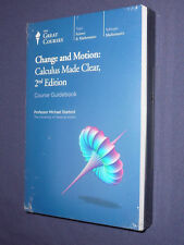 Teaching Co Great Courses DVDs     CHANGE and MOTION  CALCULUS MADE CLEAR    new