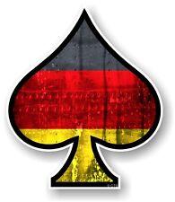 Ace of spades avec lgbt allemagne allemand flag vinyle voiture casque autocollant decal vdub