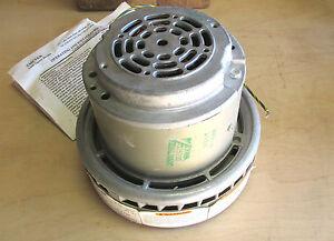 * NIB .. Ametek By-pass Vacuum 2 Stage Motor 120V Model#  115330 .. VY-202