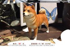 Realistic Shiba Inu  Sitting Dog Life Like Figurine Statue Home/Garder NEW AQ2