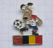 Fuji/fútbol WM 94 EE. UU./Striker/Bélgica... Sport/foto pin (121b)