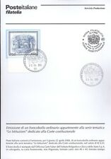 ITALY 2006 LE INSTITUTIONS BULLETIN COMPLETE WITH STAMPS FDC