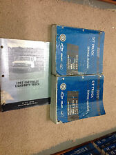 1997 Chevrolet S10 Blazer GMC Jimmy Sonoma TRUCK Service Shop Repair Manual Set