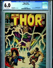 Thor  #129 CGC 6.0 1966 Marvel 1st Ares Ks20