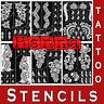 Mehndi Henna Stencils Temporary Tattoo Large Glitter Template Hand Body Art