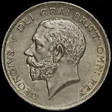 More details for 1917 george v silver half crown, a/unc