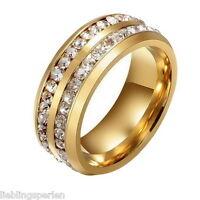 1 Silber Ringe Fingeringe Verlobungsring Lila Rechteck Strass Zirkonia M8250
