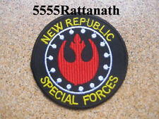 STAR WARS New Republic Special Forces Patch Badge embroidered 3""