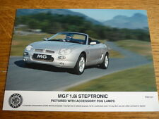 MGF 1.8i STEPTRONIC WITH FOG LAMPS PRESS PHOTO 'SALES BROCHURE' @ 2007?