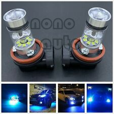 Super Bright H8 H9 H11 H16 8000K ICE BLUE 55W CREE LED Fog Light Conversion Kit