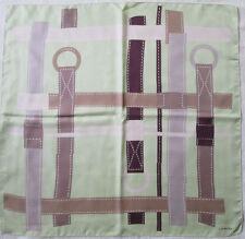 LANCEL   foulard 100% soie  en TBEG vintage  86 X 89 cm