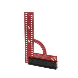 "MC-Square150 Framing Square Handheld Straight Edge Aluminum Hand Tool New 6"""