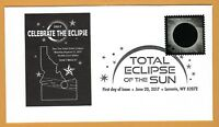 Idaho.  Celebrate The Eclipse. Total Solar Eclipse of the Sun. FDC