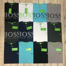 Hugo Boss Men's Short Sleeve Crew Neck T Shirt With Small And Large Logo
