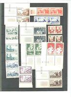 Maroc : 72 timbres neufs ** par paires
