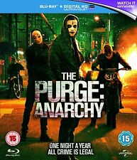 BLU-RAY  THE PURGE 2 ANARCHY       BRAND NEW SEALED UK STOCK