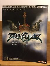 Soul Caliber II 2 strategy guide by Brady Games for PS2, Xbox, and GC + poster