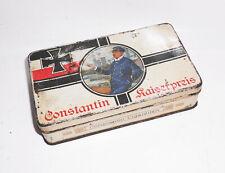 Alte Blechdose Constantin Cigaretten Kaiserpreis vor 1945 vintage tin box !