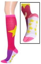 Knee high socks, Bold Star & mini stars, super, women's size 9-11, New w/ tags