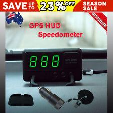 2018 GPS HUD Speedometer Digital Heads Up Display Car Speed Warning Plug & Play