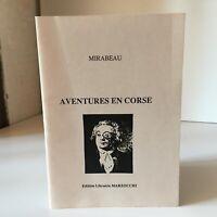 Mirabeau Aventura En Corse Marzocchi 1991