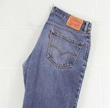 Vintage LEVI'S 550 Relaxed Fit Men's Blue Jeans W33 L32