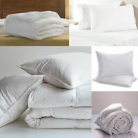 Quilt  Duvet  Single Double King Super King Size 4.5 10.5 13.5 15 Tog OR Pillows