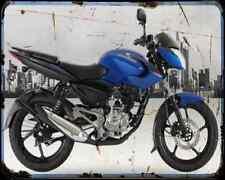 Bajaj Pulsar 135 14 03 A4 Metal Sign moto antigua añejada De