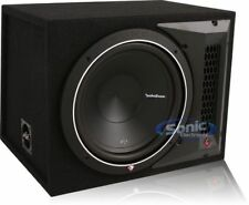 "Rockford Fosgate Punch P1 P1-1X12 500W Single 12"" Loaded Ported Subwoofer Box"